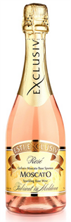 Esti Exclusiv Moscato Rose Spumos 750ml - Case of 12